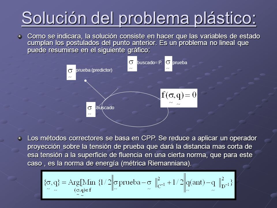 Solución del problema plástico: