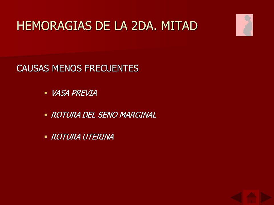 HEMORAGIAS DE LA 2DA. MITAD