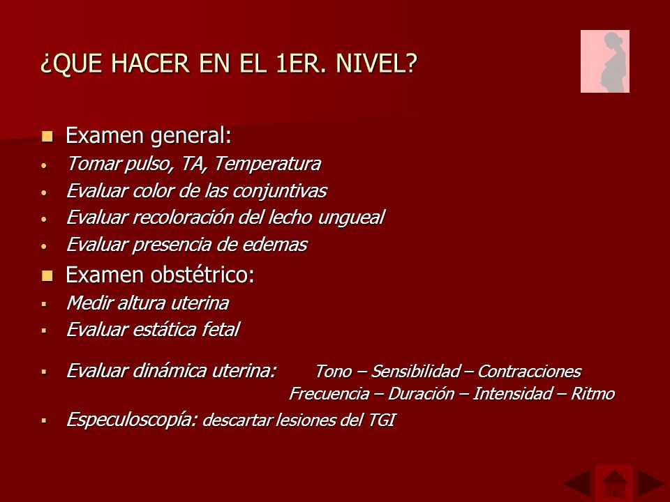 ¿QUE HACER EN EL 1ER. NIVEL