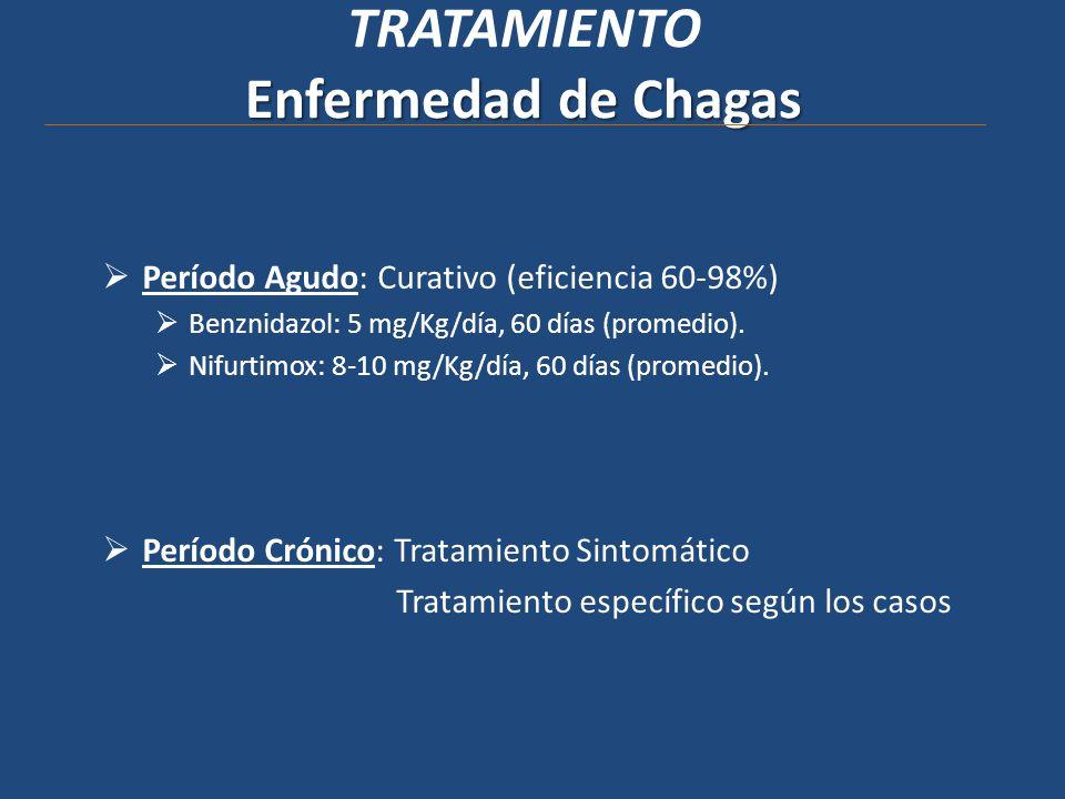 TRATAMIENTO Enfermedad de Chagas