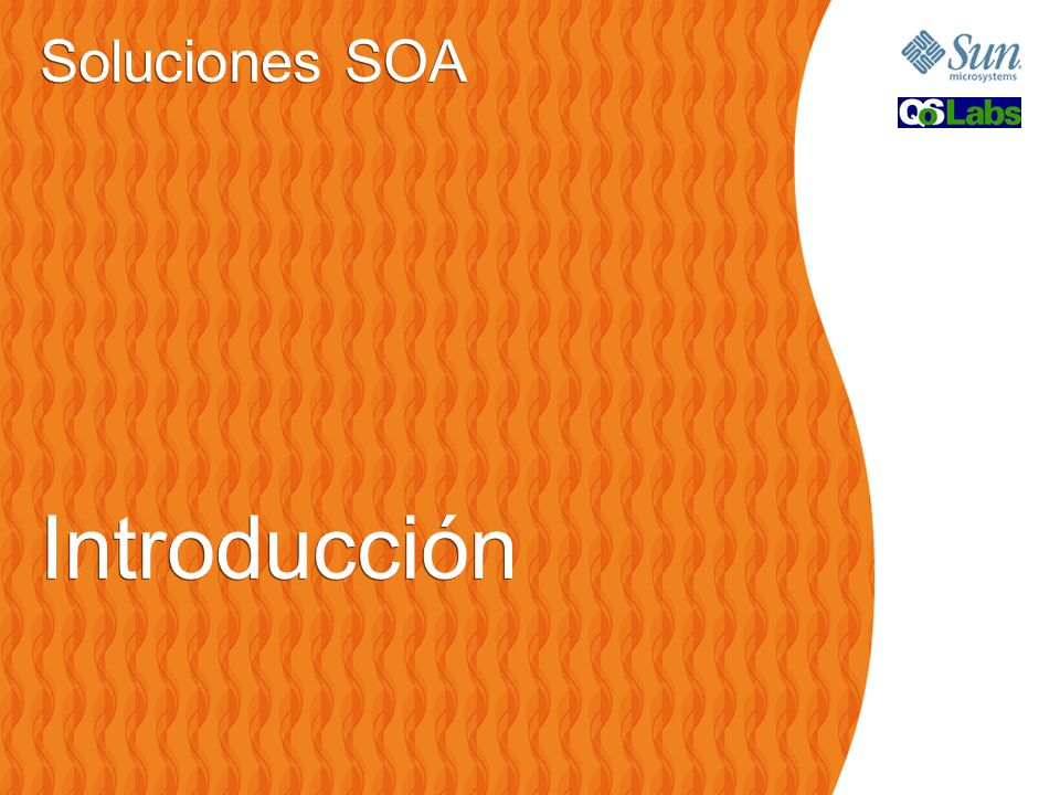 Soluciones SOA Introducción