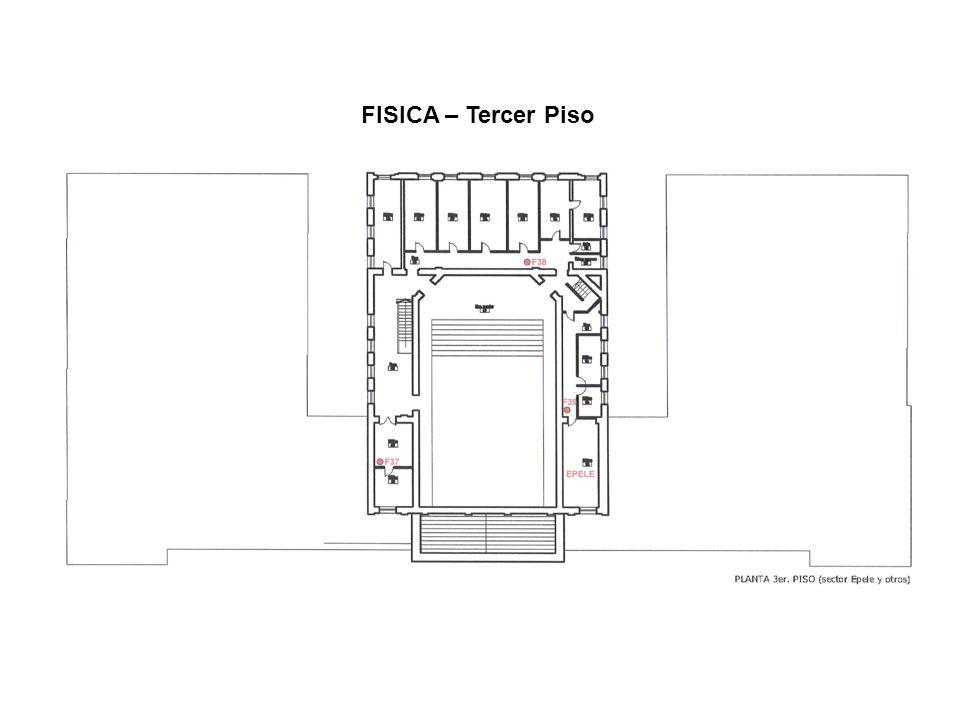 FISICA – Tercer Piso
