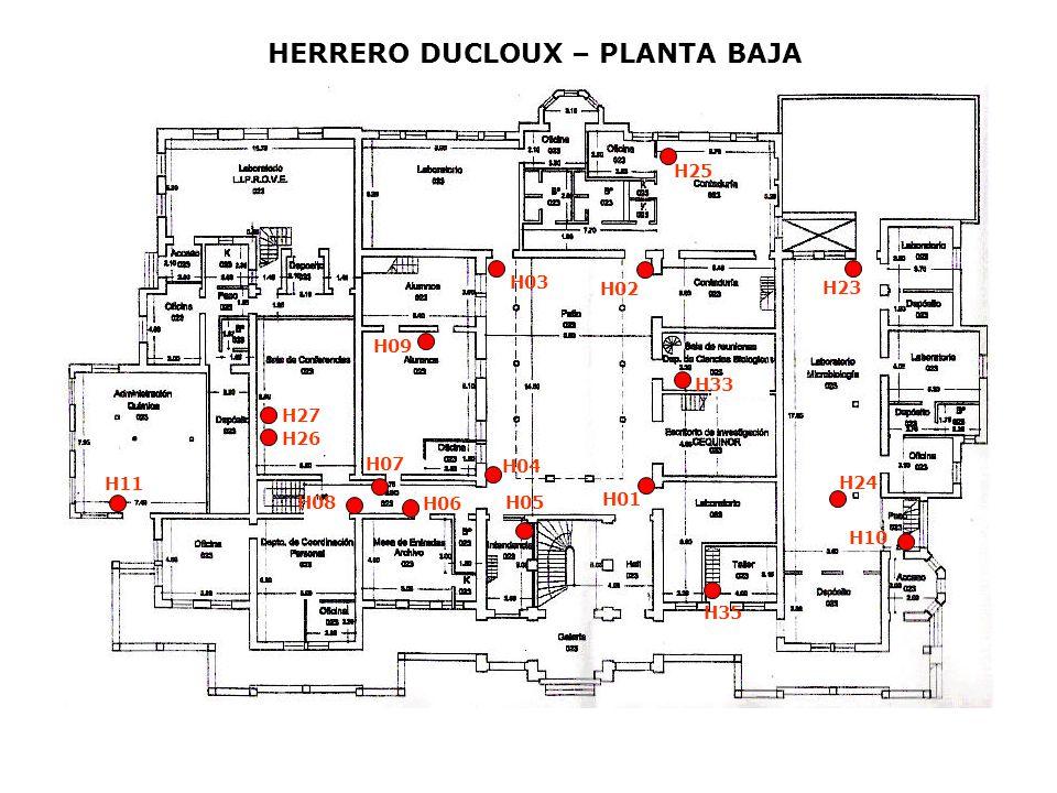 HERRERO DUCLOUX – PLANTA BAJA