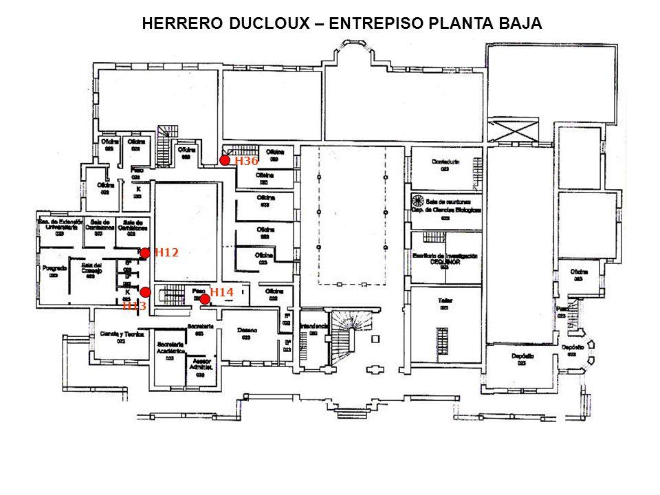HERRERO DUCLOUX – ENTREPISO PLANTA BAJA