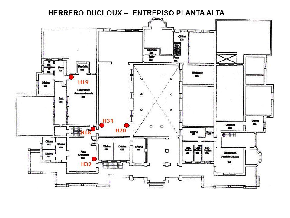 HERRERO DUCLOUX – ENTREPISO PLANTA ALTA