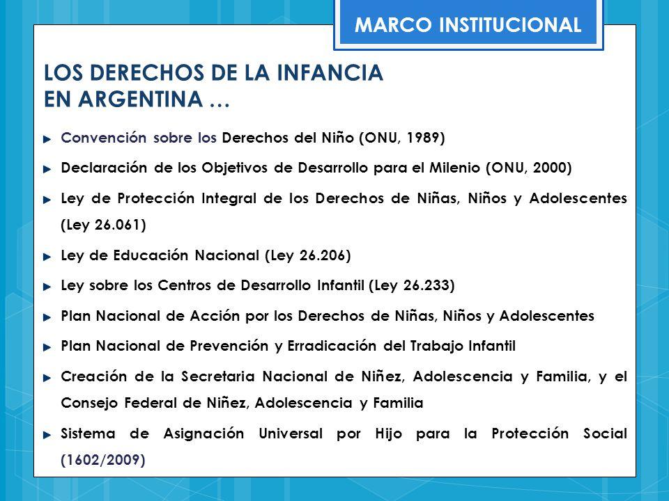 LOS DERECHOS DE LA INFANCIA EN ARGENTINA …
