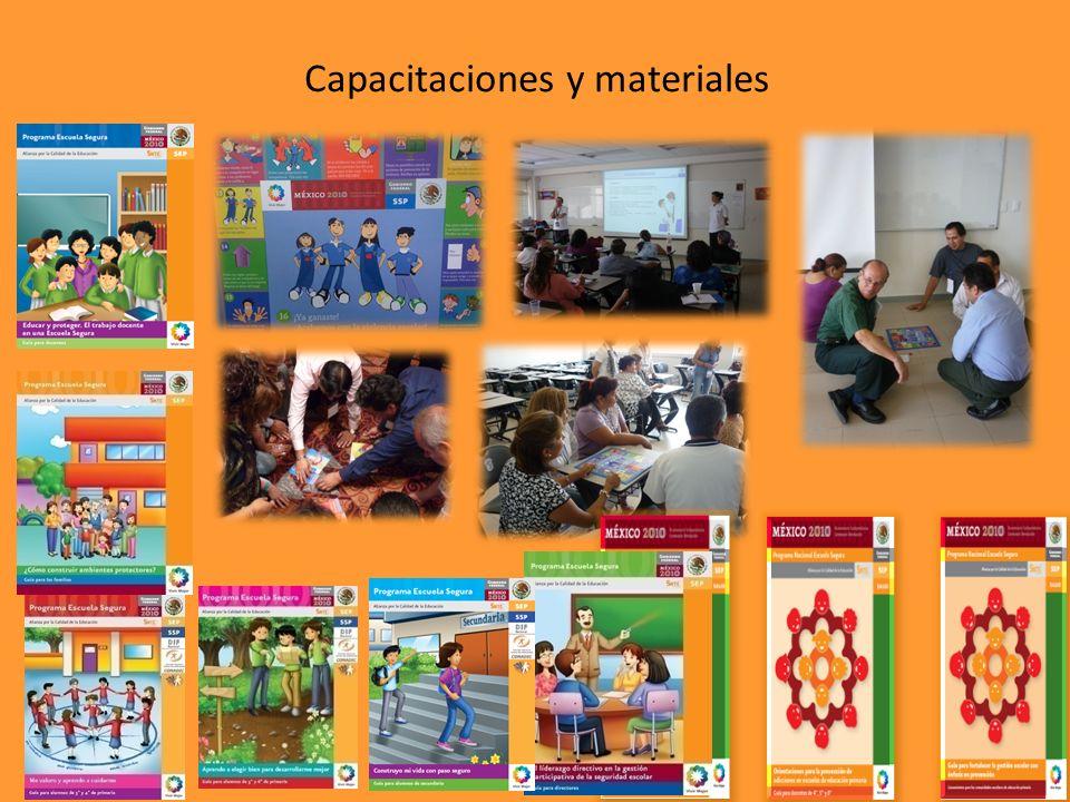 Capacitaciones y materiales