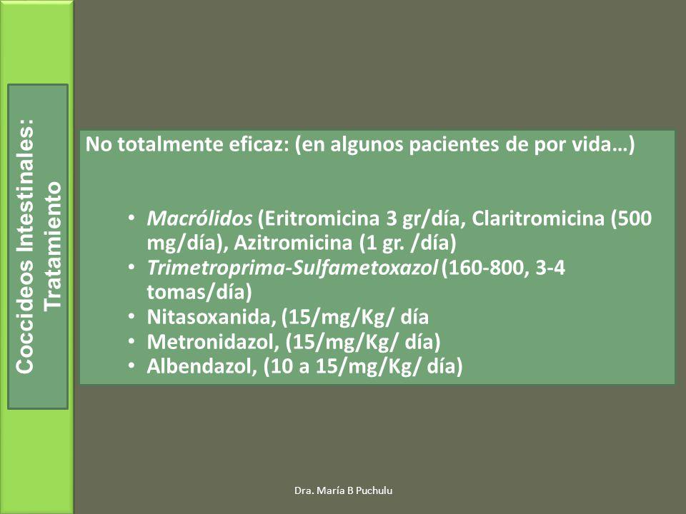 Coccideos Intestinales: Tratamiento