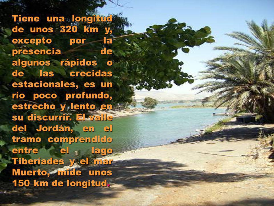 Tiene una longitud de unos 320 km y, excepto por la presencia de algunos rápidos o de las crecidas estacionales, es un río poco profundo, estrecho y lento en su discurrir.