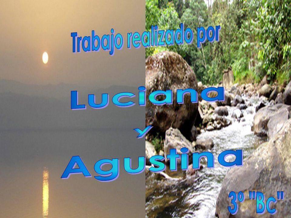 Trabajo realizado por Luciana y Agustina 3º Bc