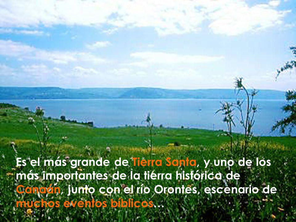 Es el más grande de Tierra Santa, y uno de los más importantes de la tierra histórica de Canaán, junto con el río Orontes, escenario de muchos eventos bíblicos…