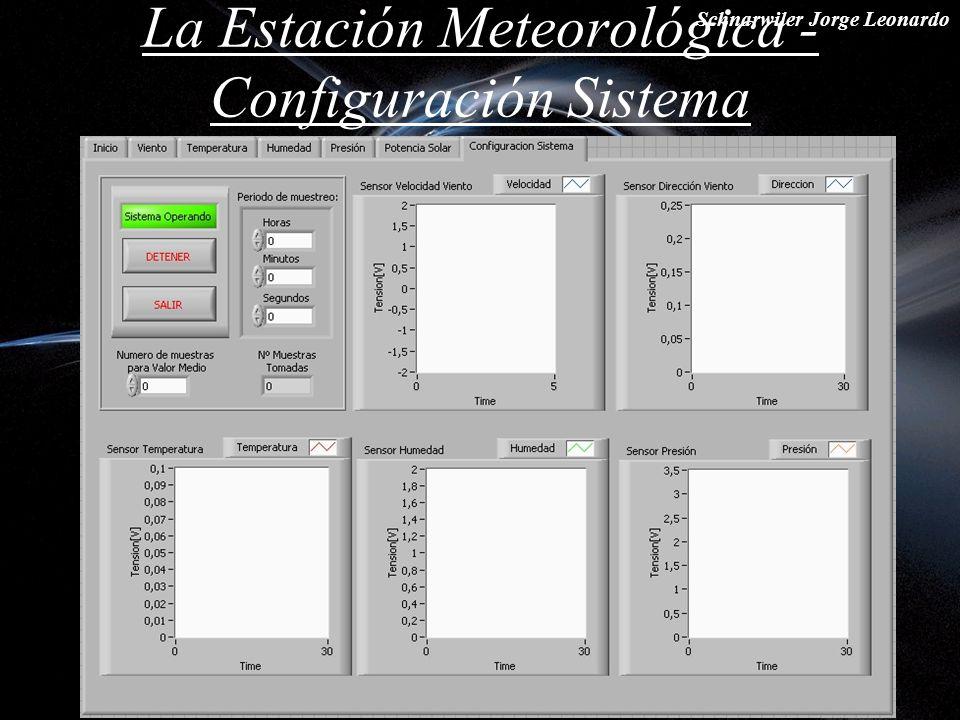 La Estación Meteorológica - Configuración Sistema