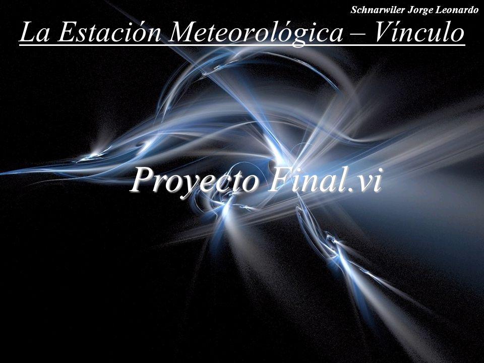 La Estación Meteorológica – Vínculo