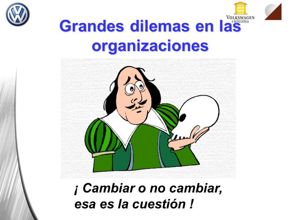 Grandes dilemas en las organizaciones