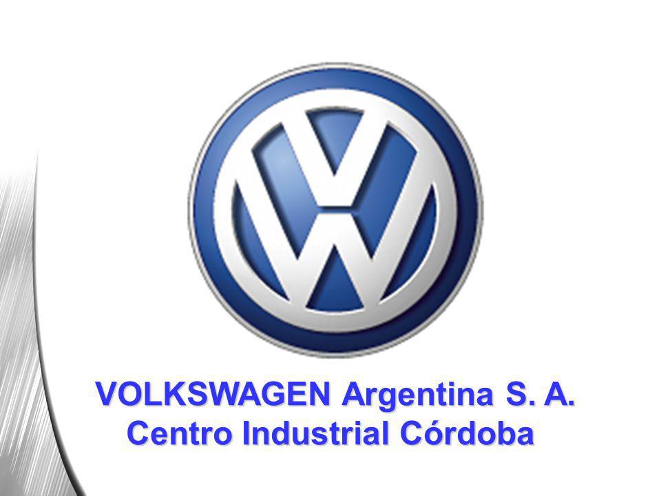 VOLKSWAGEN Argentina S. A. Centro Industrial Córdoba