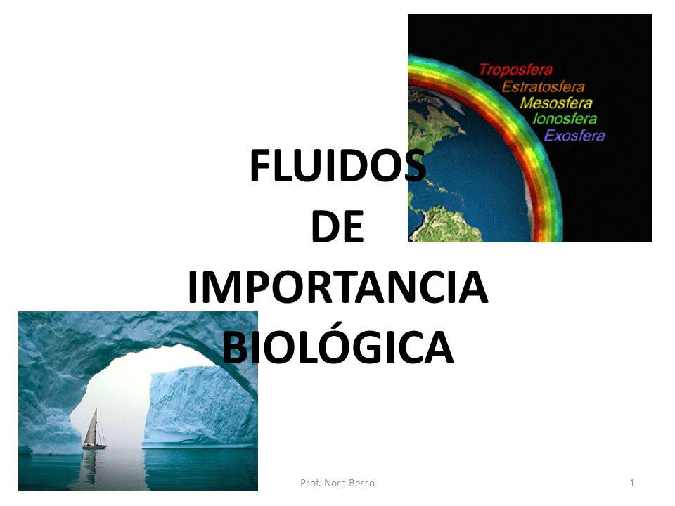 FLUIDOS DE IMPORTANCIA BIOLÓGICA