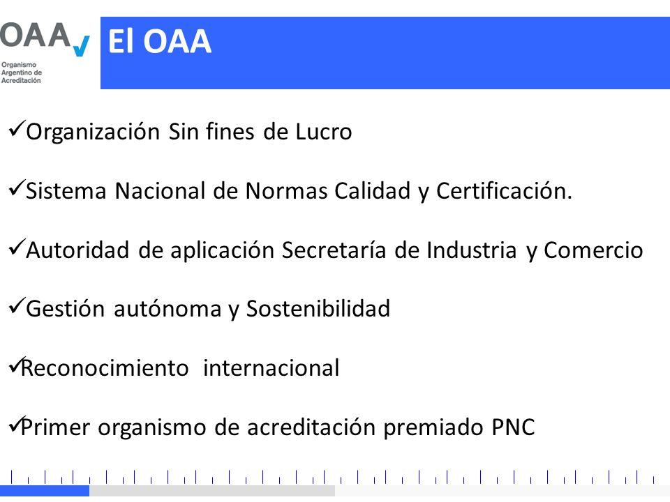 El OAA Organización Sin fines de Lucro