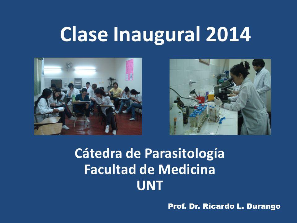 Cátedra de Parasitología Facultad de Medicina UNT
