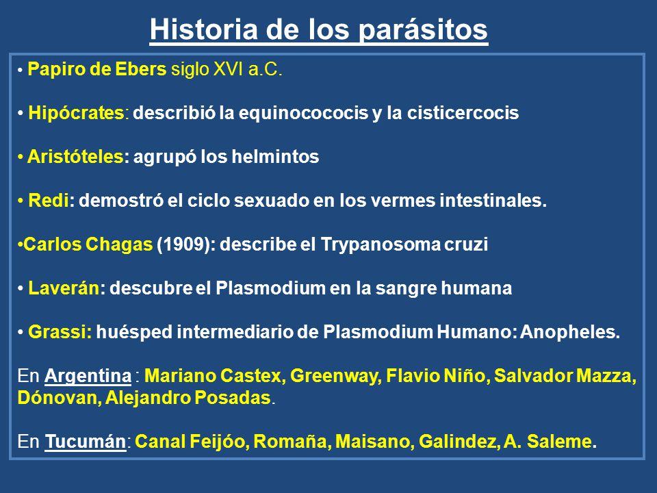 Historia de los parásitos