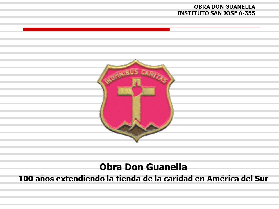 OBRA DON GUANELLA INSTITUTO SAN JOSE A-355