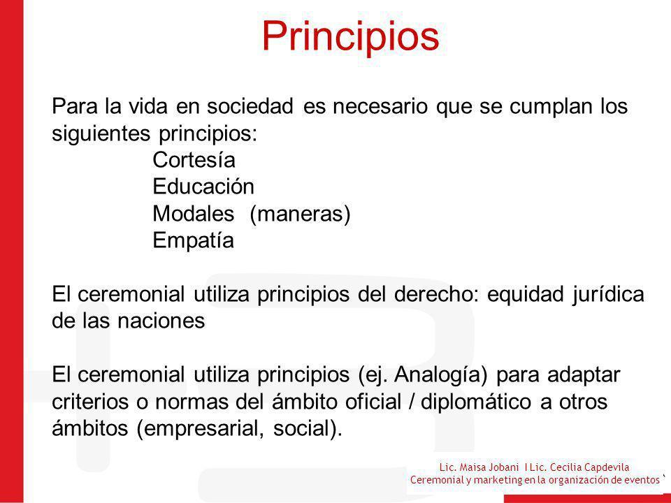 Principios Para la vida en sociedad es necesario que se cumplan los siguientes principios: Cortesía.