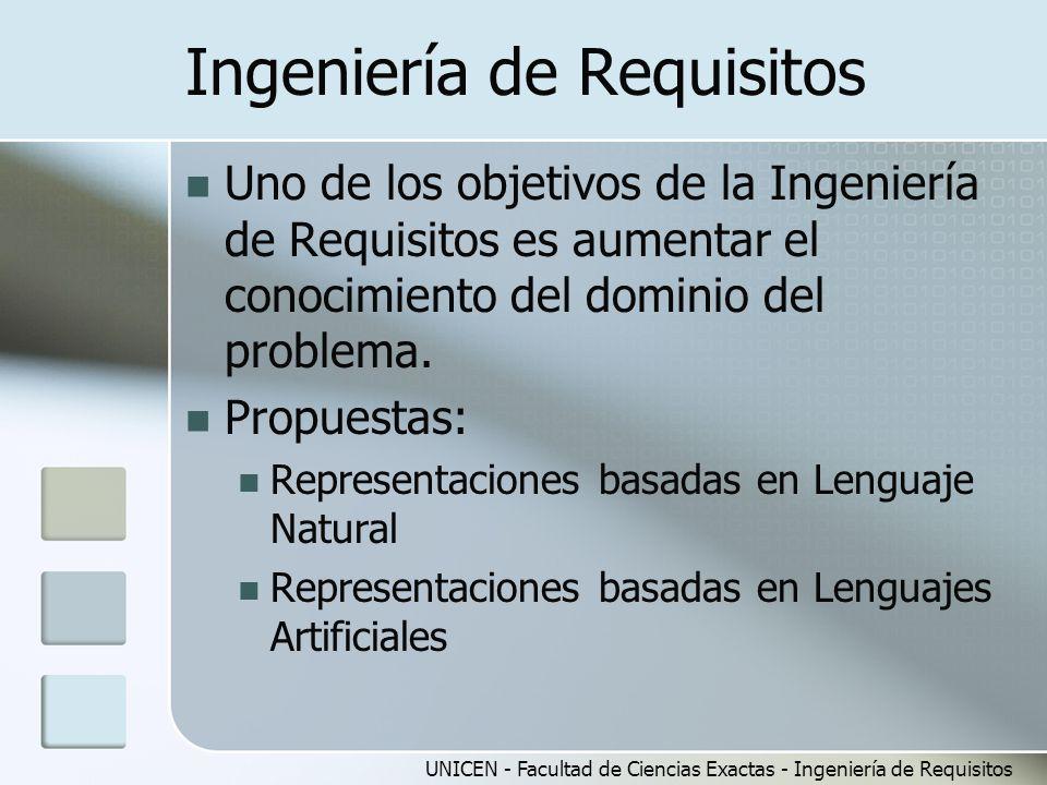 Ingeniería de Requisitos
