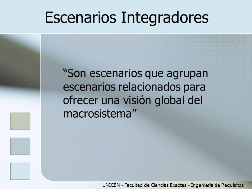 Escenarios Integradores