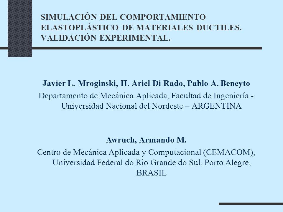Javier L. Mroginski, H. Ariel Di Rado, Pablo A. Beneyto