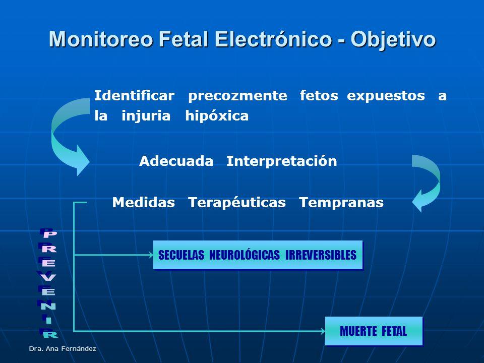Monitoreo Fetal Electrónico - Objetivo