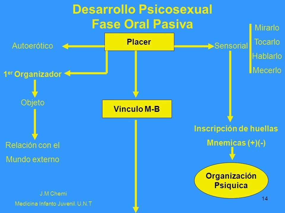 Desarrollo Psicosexual Inscripción de huellas