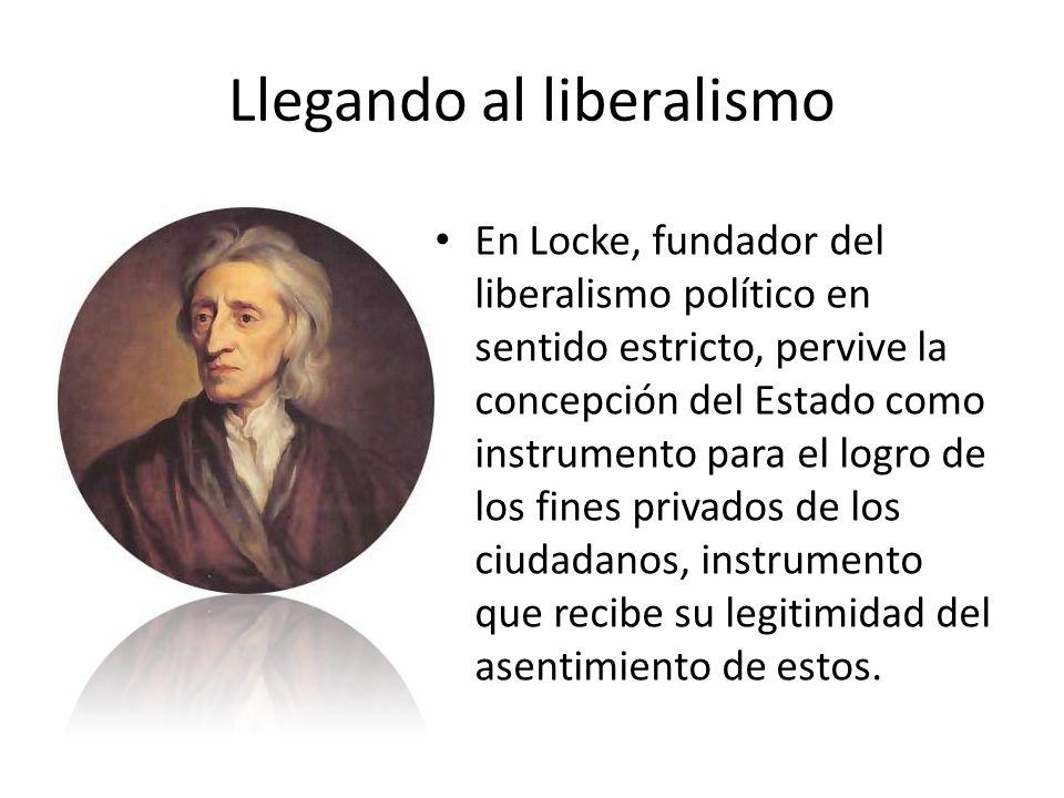 Llegando al liberalismo