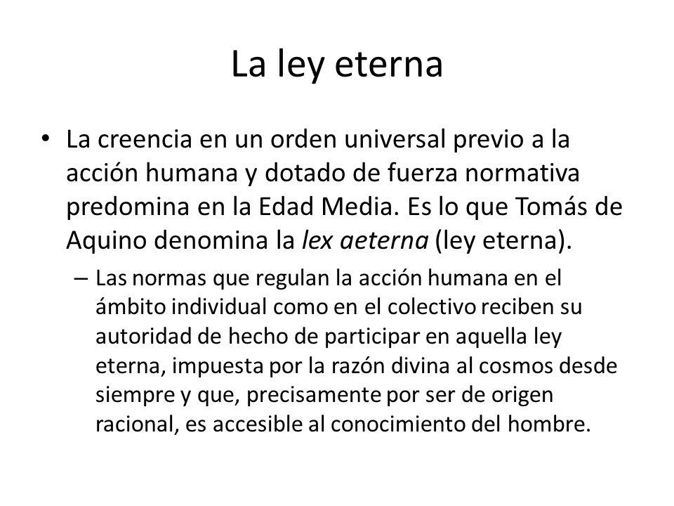 La ley eterna