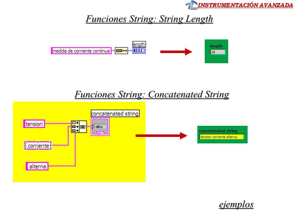 Funciones String: String Length