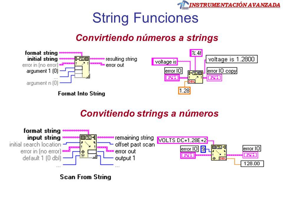 String Funciones Convirtiendo números a strings