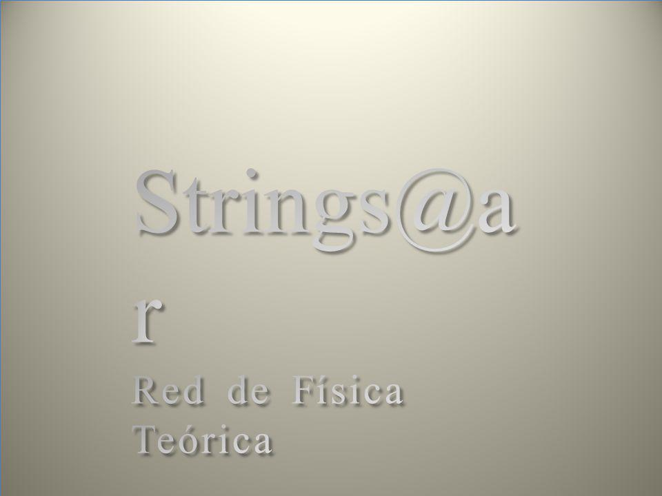 Strings@ar Red de Física Teórica