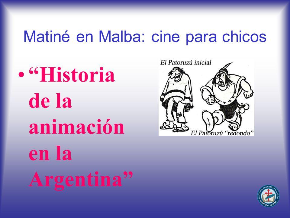 Matiné en Malba: cine para chicos