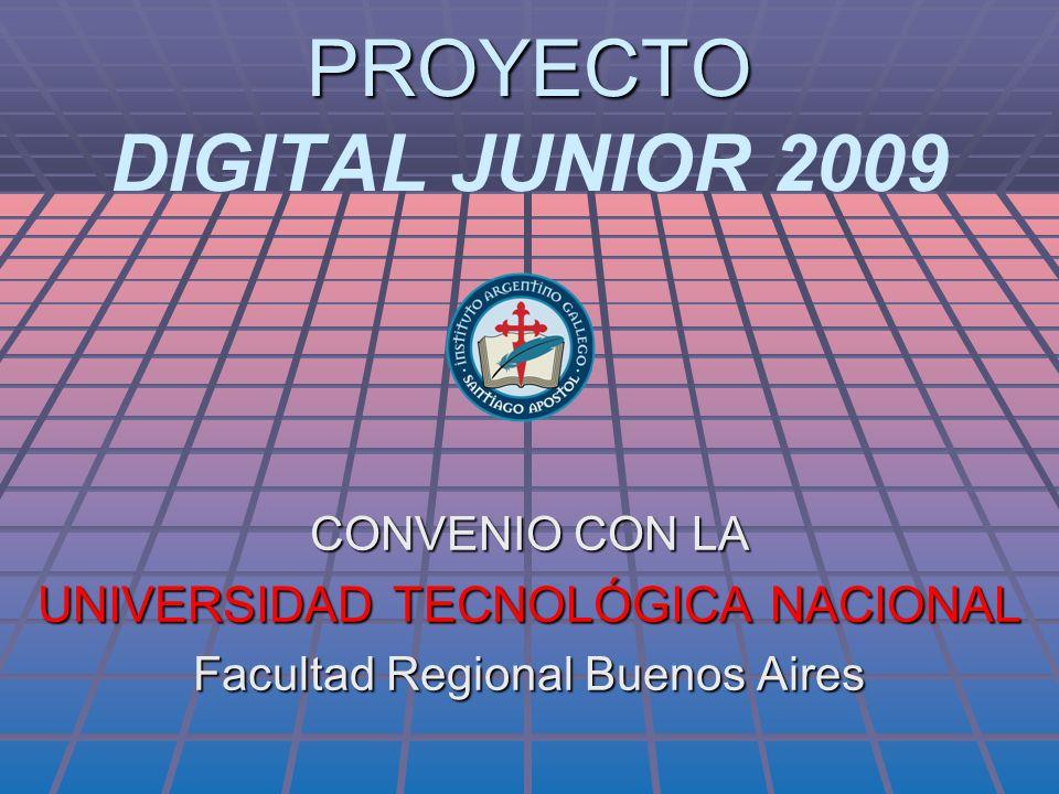 PROYECTO DIGITAL JUNIOR 2009