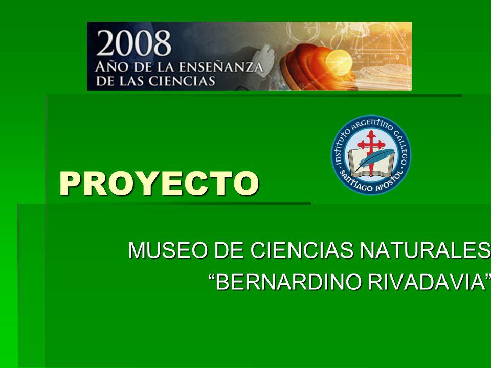 MUSEO DE CIENCIAS NATURALES BERNARDINO RIVADAVIA