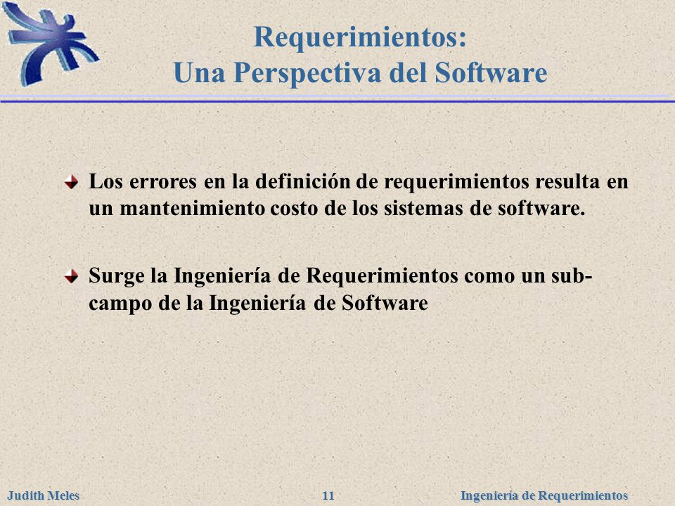 Una Perspectiva del Software