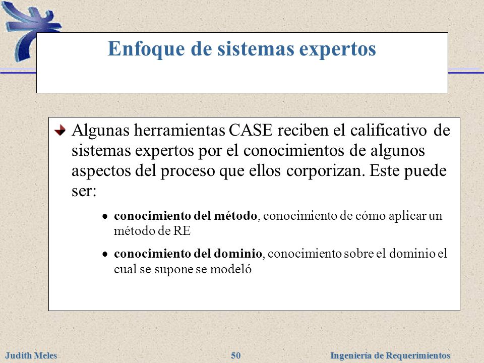 Enfoque de sistemas expertos
