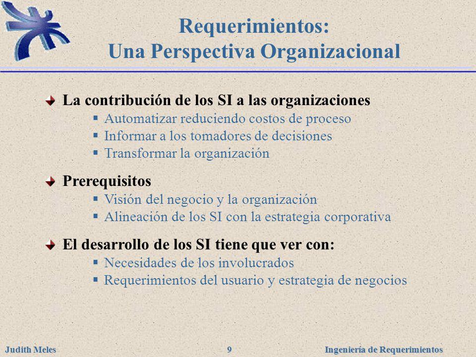 Una Perspectiva Organizacional