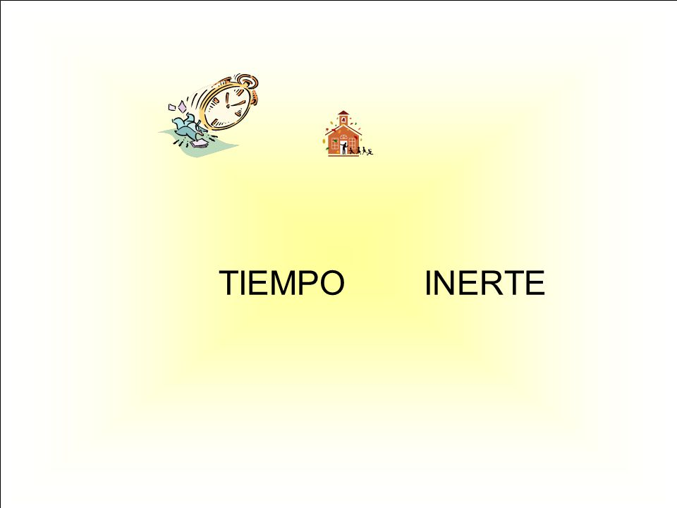 TIEMPO INERTE
