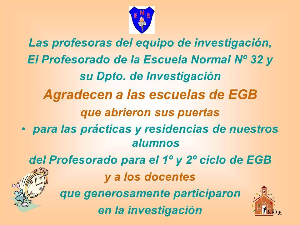 Agradecen a las escuelas de EGB