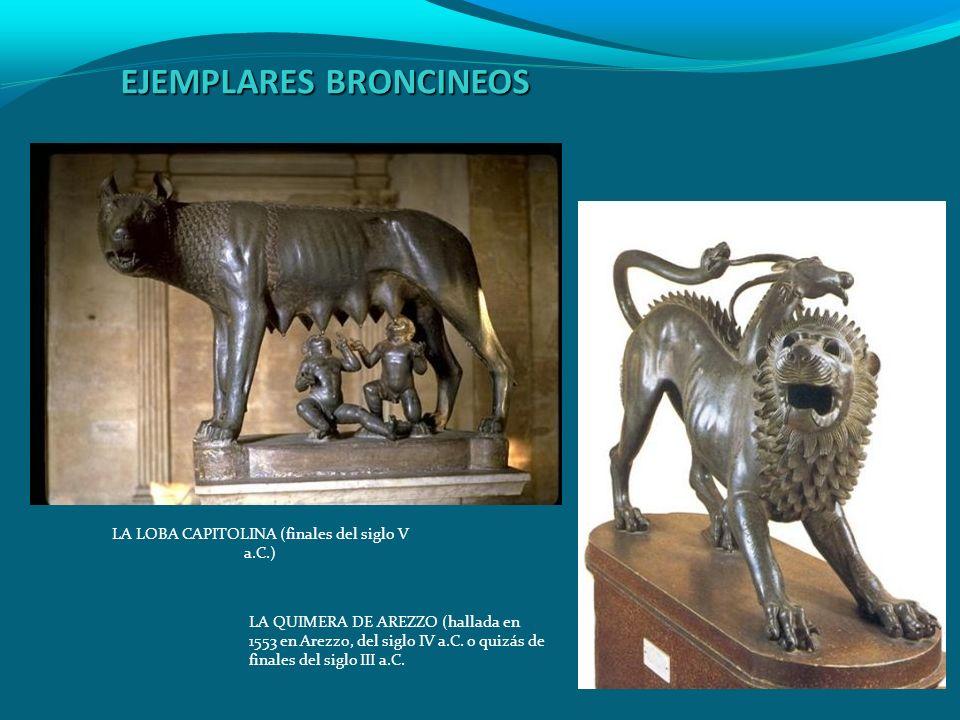 EJEMPLARES BRONCINEOS