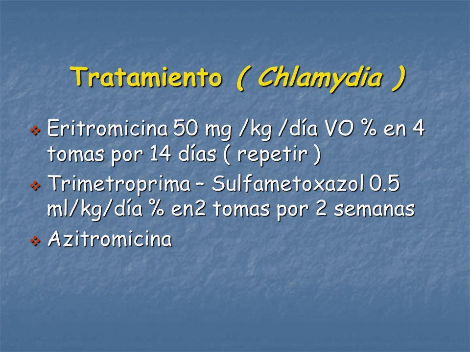 Tratamiento ( Chlamydia )