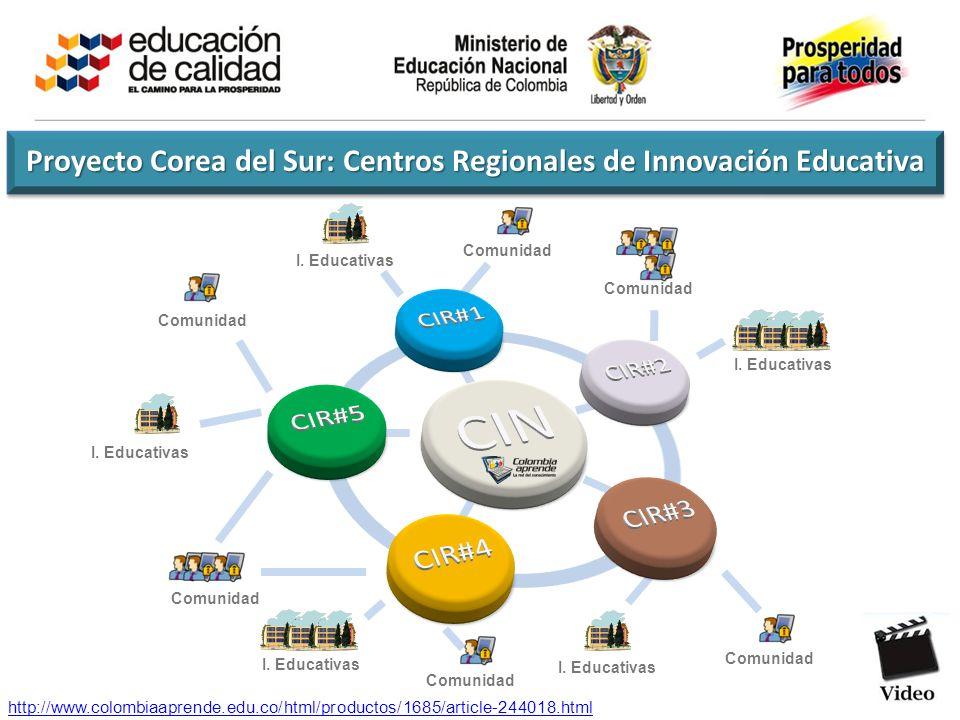 Proyecto Corea del Sur: Centros Regionales de Innovación Educativa