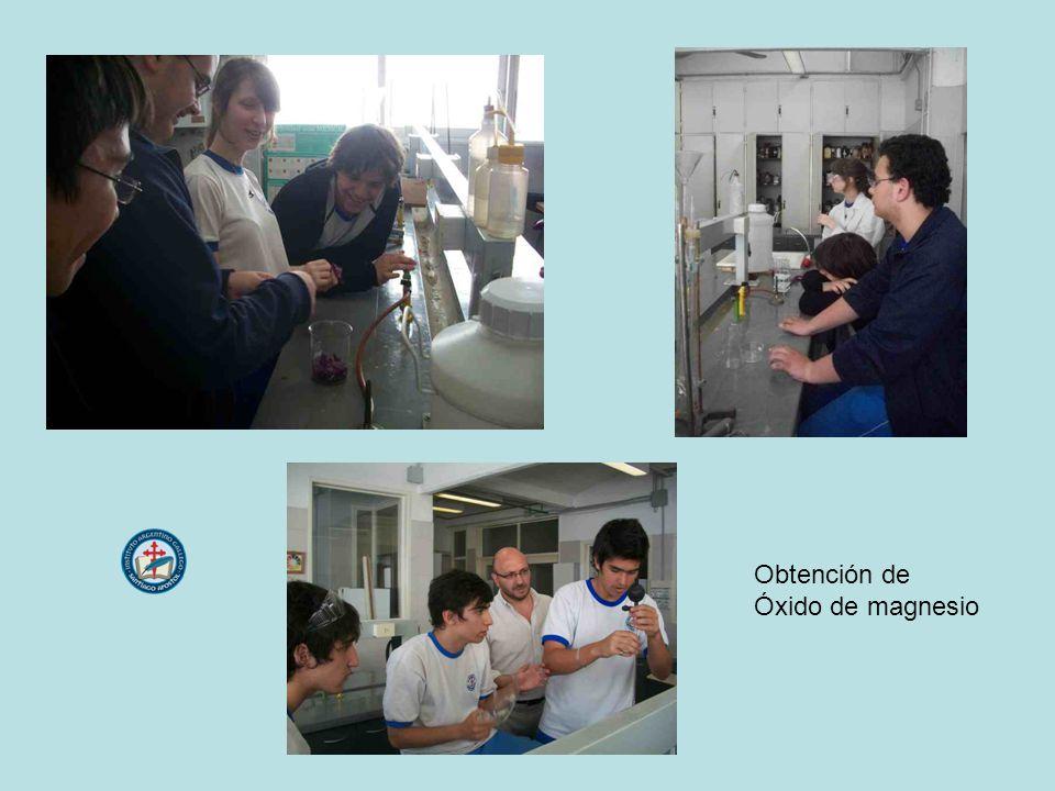 Obtención de Óxido de magnesio