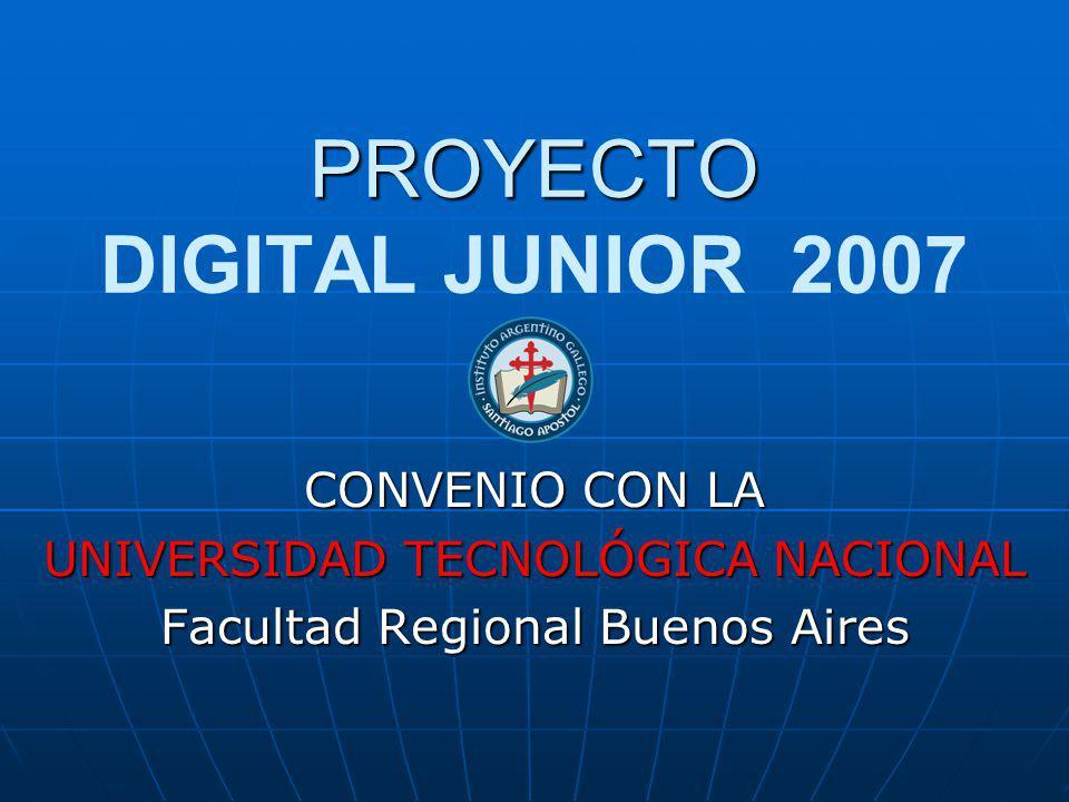 PROYECTO DIGITAL JUNIOR 2007