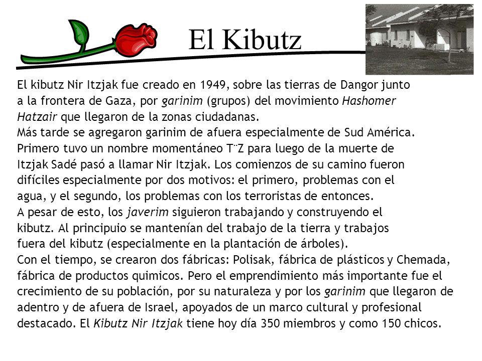 El Kibutz El kibutz Nir Itzjak fue creado en 1949, sobre las tierras de Dangor junto.