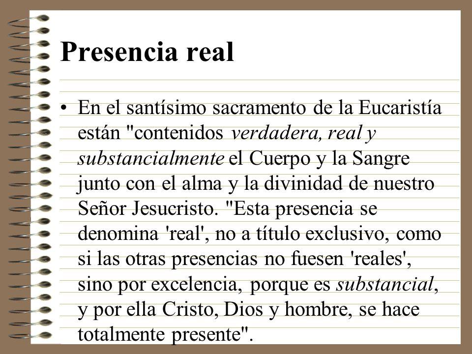 Presencia real